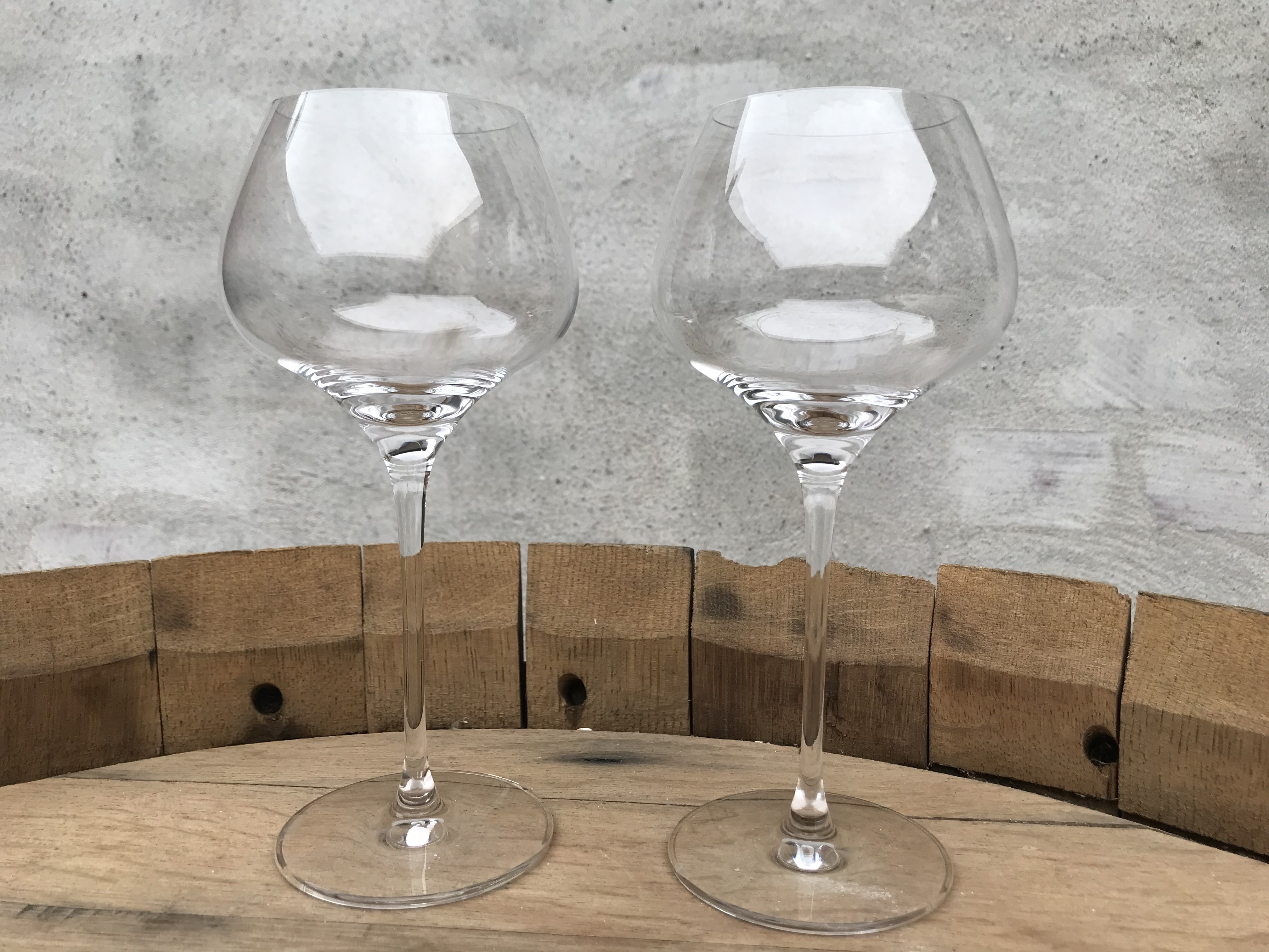 Glas hvid store