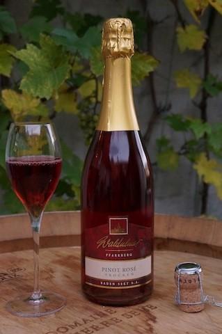 Waldulmer Pinot noir rosé sekt